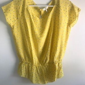 Joie Floral Blouse - size small